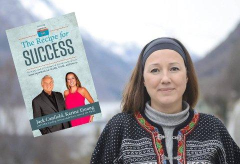 Populær bok: Karine Einang, coacher og innehaver av Einang Safety Consult, er medforfatter på endringsrettleder Jack Canfield sin nye bok «The Recipe for Success», som nylig havnet på Amazon sine bestselgerlister.Innfelt foto: DNA Agency/Nick Nanton