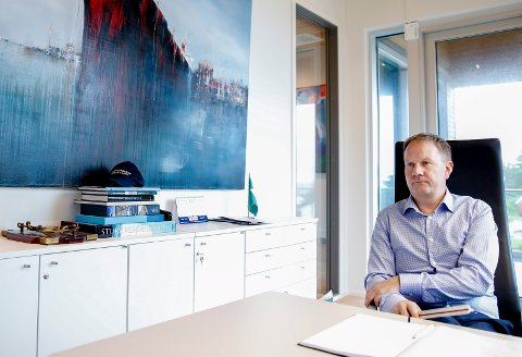 Adm. dir. i Solstad  Offshore Lars Peder Solstad.
