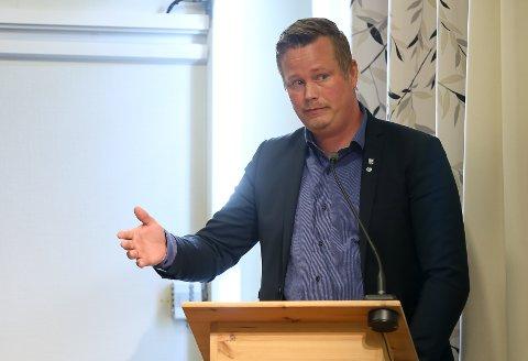 JA, FORELØPIG: Gruppeleder Trond Bjørkås og Senterpartiet har foreløpig sagt ja til parkeringsavgift i Mosjøen. Nå gjenstår det å se om dette blir opprettholdt i kommunestyret neste uke.