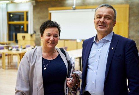 KUN FINNMARK: Ragnhild Vassvik vil ikke at Willy Ørnebakk og andre fra Troms skal delta i valget av FeFo -styre. Det samme med representanter i Sametinget som ikke bor i Finnmark.