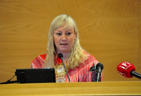 En samlet nominasjonskomite i Troms og Finnmark Senterparti har den 3. februar 2019 innstilt forslag til fylkesvalgliste, som skal vedtas på nominasjonsmøtet i Tromsø 2.mars 2019. Nummer to på lista er Anne Toril Eriksen Balto.