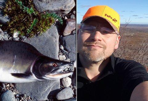 VERRE ENN PARASITT: Geir Thrane (bildet) mener at pukkellaksen potensielt kan være verre for norske elver enn parasitter.