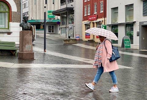 FALLER PÅ MÅLING: Andelen som jobber i privat sektor i Harstad er blitt mindre og ligger i likhet med mange kommuner i Troms og Finnmark på et veldig lavt nivå.