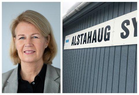 Leder i Pårørendealliansen, Anita Vatland, reagerer på det hun mener er ansvarsfraskrivelse fra Alstahaug kommune vedrørende avvikene på sykehjemmet i Sandnessjøen.
