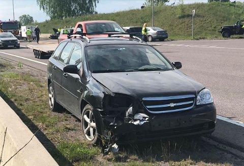 SMELL: Det ble bare mindre personskader i ulykken.