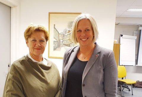 Tove Ødeskaug og Elin Gran Weggesrud er enige om 10 punkter som danner den politiske plattformen de skal styre etter de neste fire årene.