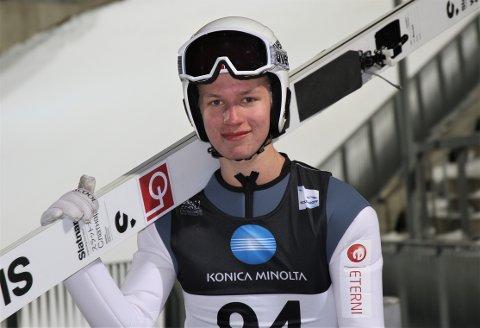 VIKTIGE RENN: Ole Kristian Baarset har viktige norgescuprenn foran seg. Han må prestere der for å komme  til junior-VM. Foto: Svein Halvor Moe