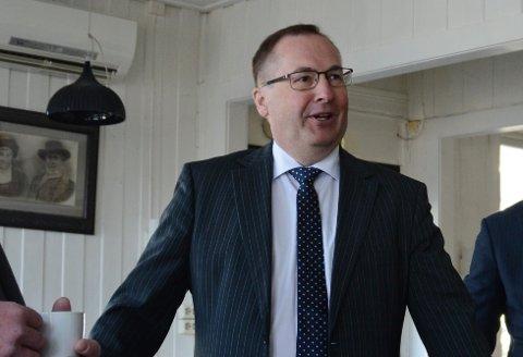 Knut Førland er ny dagleg leiar i Kvinnherad Energi.
