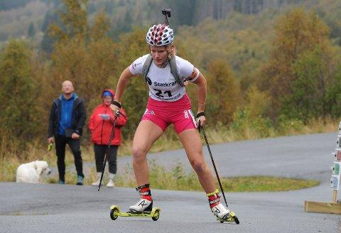 SATSAR: Ragnhild Femsteinevik har fått eit løft, sjølv om ho vart vegen og funne for lett på landslaget og er no sin eigen trenar. (Arkivfoto).