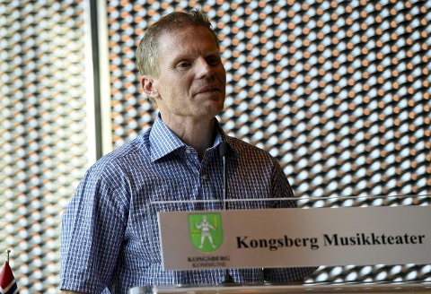JOBBER VIDERE: Per Olve Tobiassen og Kongsberg Idrettsråd vil jobbe videre for å sikre midler til å opprette en stilling i KIR. Foto: Ole John Hostvedt