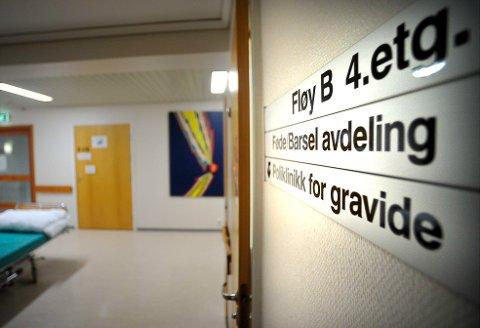 Fødeavdelingen på Kongsberg sykehus Føden
