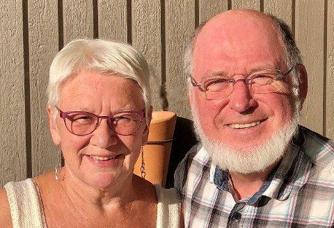 DUO: Ekteparet Sigurd og Liv Hukkelberg holder konsert sammen i Kongsberg kirke.