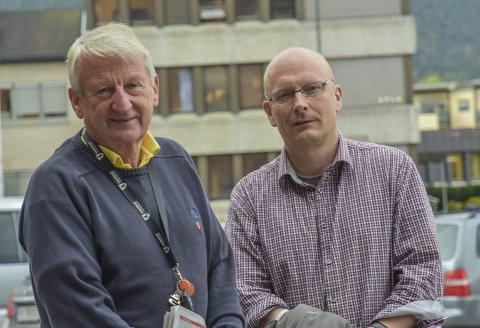 Lars Haugen og Per Vemork