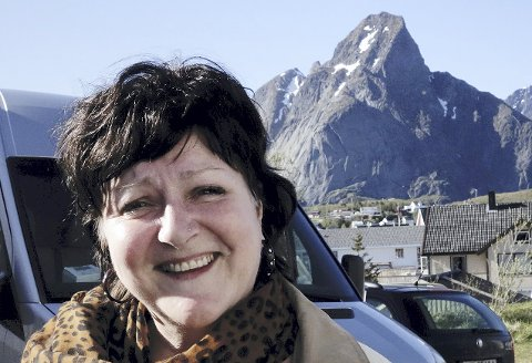 Storfornøyd: Anne B. Ragde er fast bestemt på å komme tilbake til Reine Ord. Alle foto: karianne steen