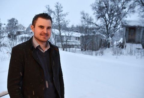 Kent Roar Nybø, ny sjefredaktør i Lofot-Tidende.