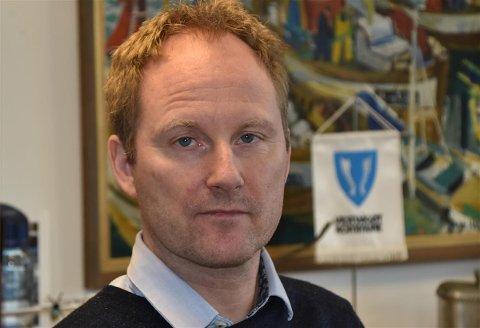 Remi Solberg (Ap), ordfører i Vestvågøy kommune