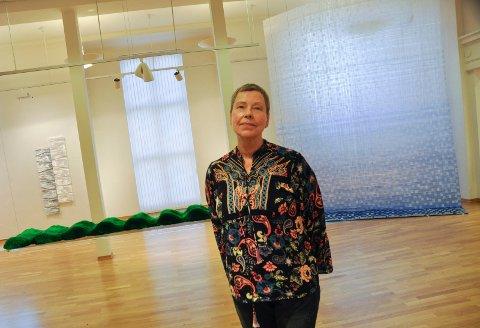 ÅPNER LØRDAG: Utstilling på Moss kunstgalleri med Sonskunstneren Freydis Einarsen.