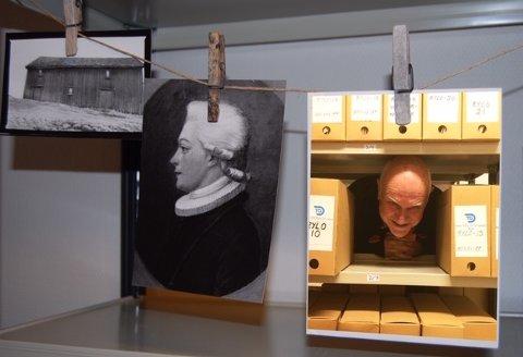 SAMLER HISTORIE: Aimar Sørenssen er leder for arkivgruppa i Rygge Museum og Historielag.