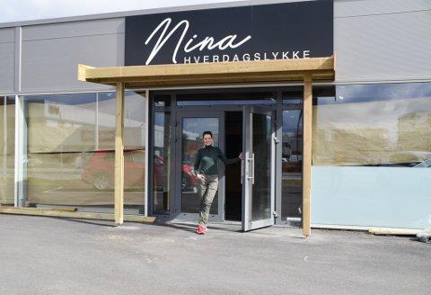 NY BUTIKK: Etter flere år i Porto Bello, bestemte Nina Merethe Felle seg for å åpne noe eget. Nå åpner hun snart Nina hverdagslykke i Midtveien.