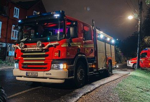 HEKTISK: Brannvesenet har travle dager i desember. Frem til september hadde brannvesenet rykket ut på 170 brannhendelser i Oslo. Her fra en utrykning tidligere i år