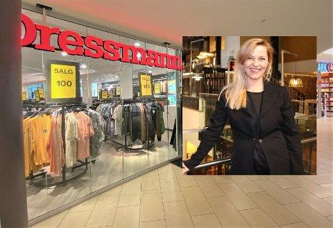 I oktober stenger Dressmann dørene etter flere år på Lambertseter senter. En ny klesbutikk skal inn.