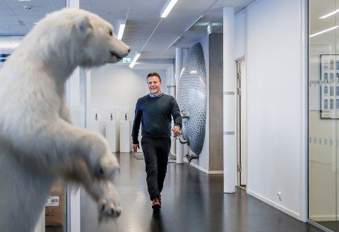 KJEMPE-ÅR: Mack-direktør Roger Karlsen er meget fornøyd med resultatet for 2020.