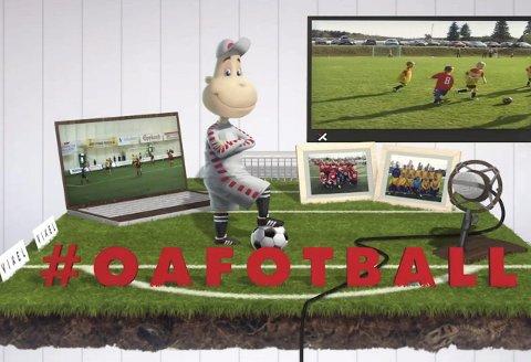 OA-TV: Det blir mye fotball på OA-TV lørdag.