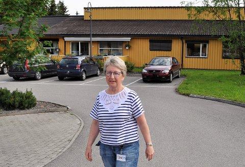 STORT ARBEIDSPRESS: – Jeg tror at stort arbeidspress over tid kan være en medvirkende årsak til det høye sykefraværet, sier virksomhetsleder Sidsel Skei Bergengen ved bokollektiv for personer med demens i Åslundmarka.