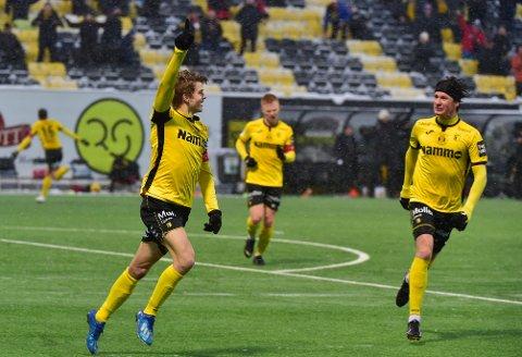 Oskar Johannes Løken innledet en spinnvill periode da han som innbytter ga Raufoss ledelsen 3-2 med sitt første spark på ballen. Åtte minutter seinere hadde Raufoss sikret kvalik til eliteserien med 5-4.