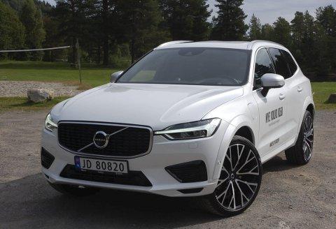 FORTSATT PÅ TOPP: Volvo har i år etablert seg som Gjøvikregionens mestselgende personbilmerke. Her modellvinneren XC60.ALLE FOTO: ØYVIN SØRAA