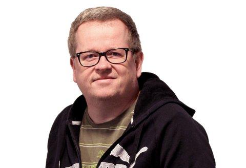 Journalist Lars Norsted i Moss Avis.