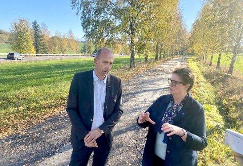 PROAKTIV: Både Ola Nordal og Hanne Opdan har gitt klart uttrykk for at de forventer å blir tatt med på laget når staten går inn å overtar reguleringen av Østre linje. De vil begge  gi aktive bidrag i den videre planprosessen.