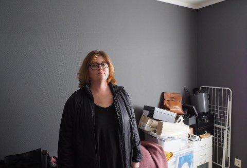 Hege Wikstrand Andresen fortviler over at både penger og garderobe ser ut til å gå tapt i Garderobe-mannens konkurs.