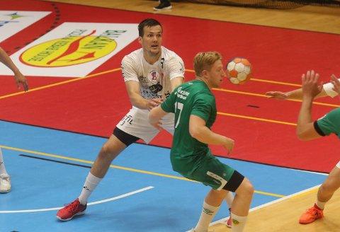 SOLID: Anders Christiansen & co. virker å være i rute noen uker før seriestarten i 1.divisjon.