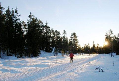 Sol, snø, skyer, minusgrader og vind. Det blir mange værtyper som inntreffer Vestfold i løpet av påskeuka. (Arkivfoto)