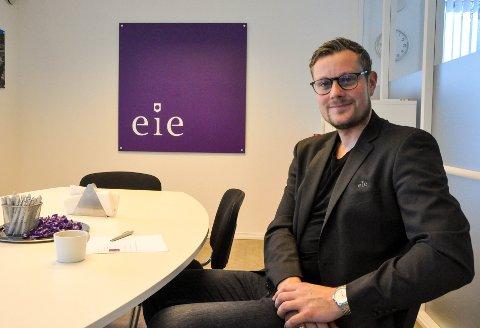 Eiendomsmegler og partner Lars A. Grønneberg