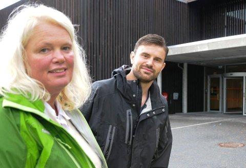 GÅR AV: Aasa Gjestvang går av som leder av Hedmark Sp 1. april grunnet ny jobb. Da tar Per Martin Sandtrøen over ledervervet.