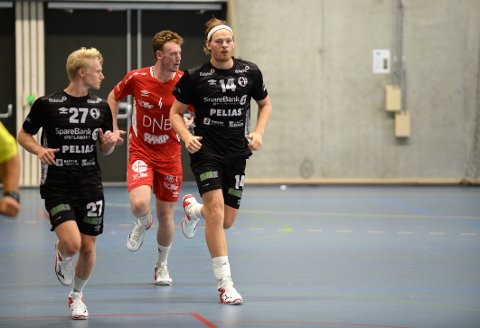 GOD START: Sebastian Henneberg er Elverums danske stjerne. Han kom godt i gang mot Kolstad.