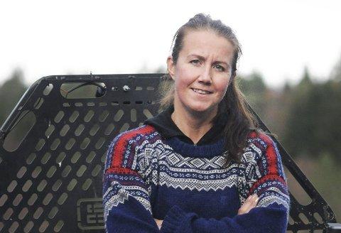 Må i skogen: Varaordfører Heidi Herum drar til skogs så ofte hun kan. Både fordi hun har drøyt 1000 mål med skog som skal driftes, men også fordi det er en strålende måte å lade batteriene til lange møter med politiske krumspring.