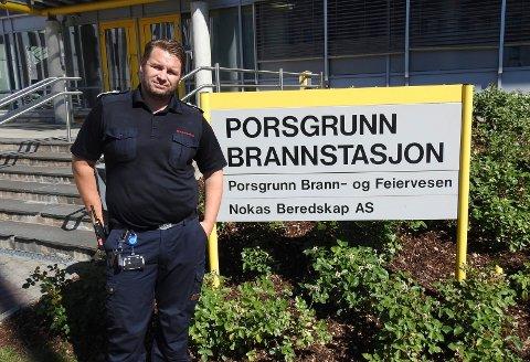 Morten Meen Gallefos sier at kommunene i Grenland blir pålagt å samarbeide om kort tid.