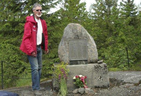 MINNES: Bamble Turlag hadde tur til minne om Gongeleiren.