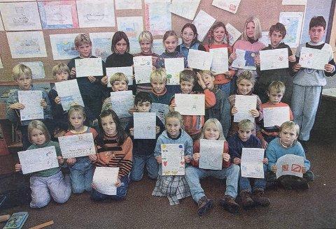 SKREV BREV - FIKK SVAR: Elevene i 3A skrev brev til Gro Harlem Brundtland om antipersonellminer.