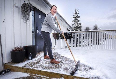 Gjorde jobben selv: Leonore Karstensen så ikke behov for megler da huset skulle selges. Foto: Øyvind Bratt