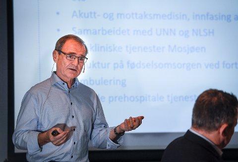 - Helgeland er like stort som det største fylket på Vestlandet. Det krever noen kompromisser, sa administrerende direktør Lars Vorland.
