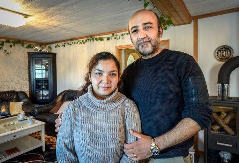 – Tårene slutter ikke år renne. Jeg er så glad, og Hussein kan nesten ikke tro at det er sant, sier Fatima Jaghori.
