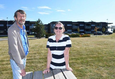 Stortrives i Dala: Nina Kristin Salen og Helge Ludvik Molvær har aldri angret på at de flyttet fra Ålesund til Brumunddal.