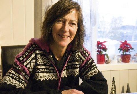SNART JUL: Else-Irene Gjermundbo Hansen har med seg barndommens verdier inn i julefeiringen.