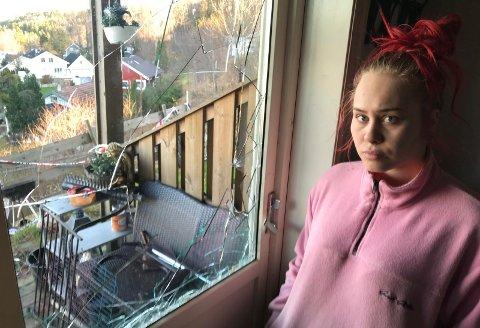 SKADEVERK: Politiet bekrefter at det ble utført innbrudd og skadeverk i Maline Feidals leilighet mens den var plombert av politiet.