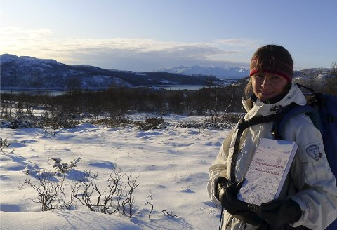 ENDELIG!: Etter 10 år med skiturer i sabotørenes skispor, intervjuer og leting i arkivene er Mildrid W.Nilsen ferdig med bokverket.