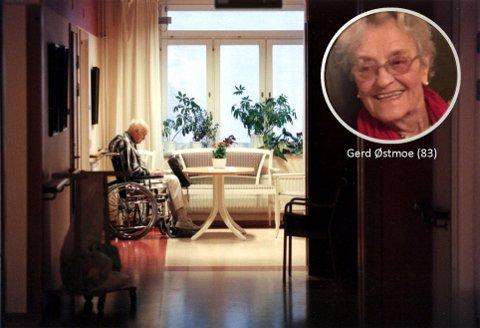 """Gerd Østmoe beskriver sitt møte med """"Mr. Alder""""."""